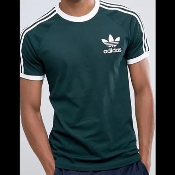 adidas shirt green